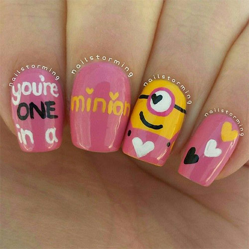 25-Awesome-Minion-Nail-Art-Designs-Ideas-Trends-Stickers-2015-18