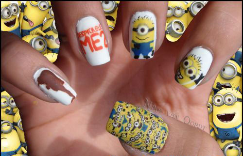 25-Awesome-Minion-Nail-Art-Designs-Ideas-Trends-Stickers-2015-24