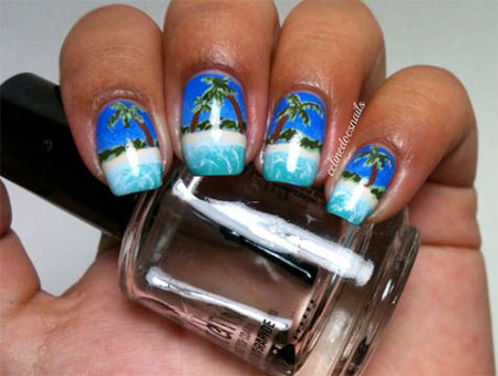30-Best-Cool-Summer-Nail-Art-Designs-Ideas- - 30+ Best & Cool Summer Nail Art Designs, Ideas, Trends & Stickers