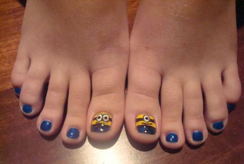 Minion-Toe-Nail-Art-Designs-Ideas-Trends-Stickers-2015-2
