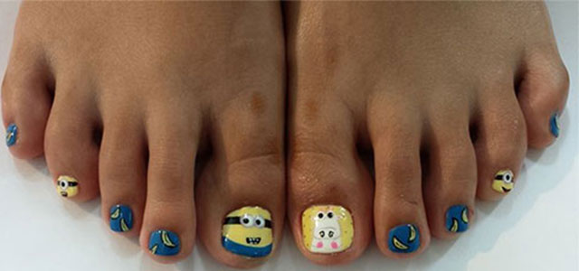 Minion-Toe-Nail-Art-Designs-Ideas-Trends-Stickers-2015