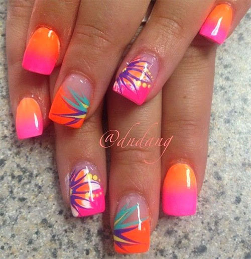 18 Beach Nail Art Designs Ideas Trends Stickers 2015