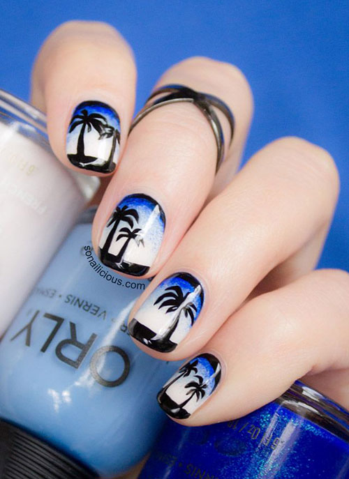 18-Beach-Nail-Art-Designs-Ideas-Trends-Stickers-2015-Summer-Nails-11