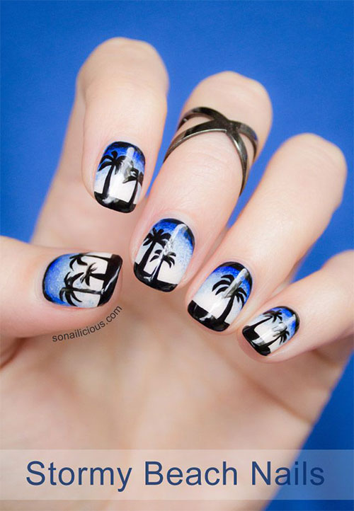 18-Beach-Nail-Art-Designs-Ideas-Trends-Stickers-2015-Summer-Nails-13
