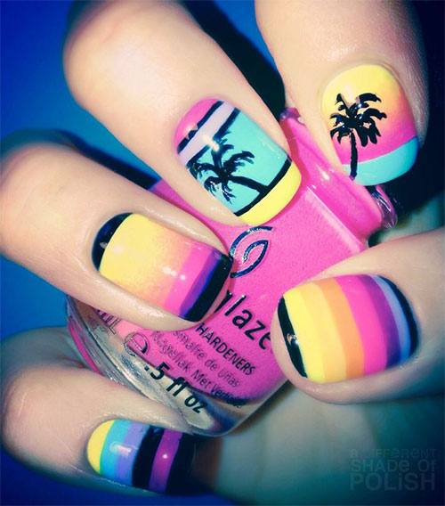 18-Beach-Nail-Art-Designs-Ideas-Trends-Stickers-2015-Summer-Nails-18