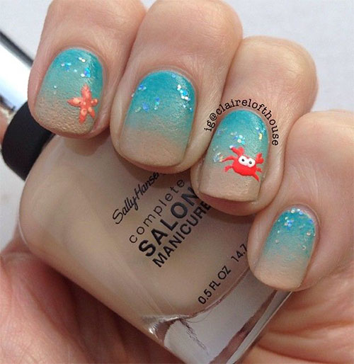 summer nail art designs ideas trend 2014 7 amazing spring summer nail