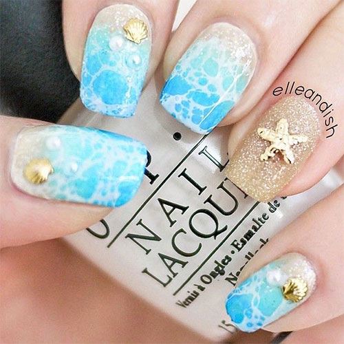18-Beach-Nail-Art-Designs-Ideas-Trends-Stickers-2015-Summer-Nails-5