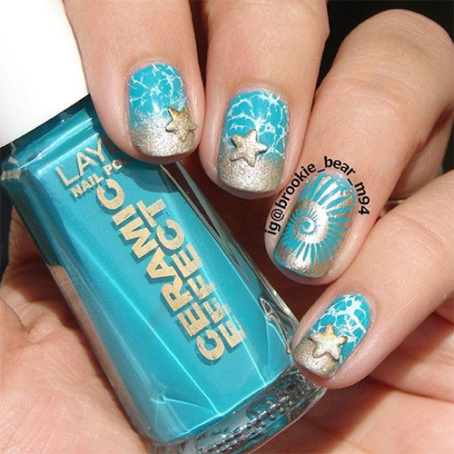18-Beach-Nail-Art-Designs-Ideas-Trends-Stickers- - 18 Beach Nail Art Designs, Ideas, Trends & Stickers 2015 Summer