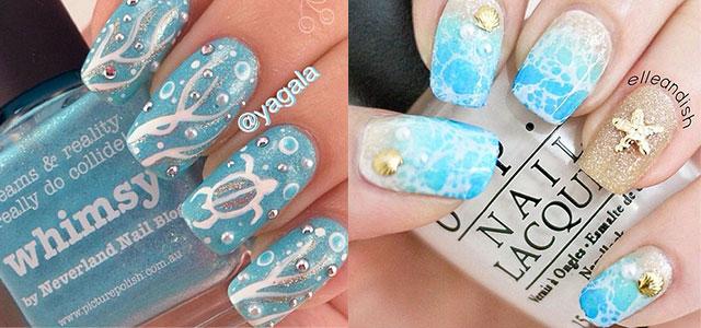 18 Beach Nail Art Designs Ideas Trends Stickers 2015 Summer