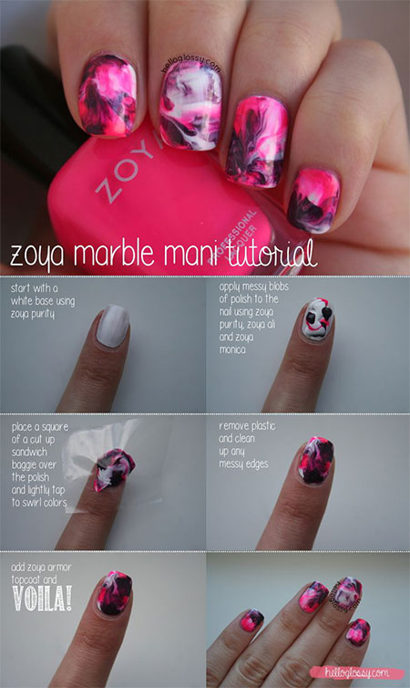 18-Easy-Step-By-Step-Summer-Nail-Art-Tutorials-For-Beginners-Learners-2015-13