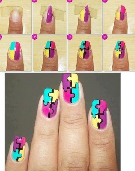 18-Easy-Step-By-Step-Summer-Nail-Art-Tutorials-For-Beginners-Learners-2015-15