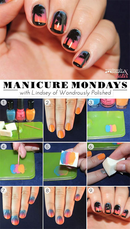 18-Easy-Step-By-Step-Summer-Nail-Art-Tutorials-For-Beginners-Learners-2015-2