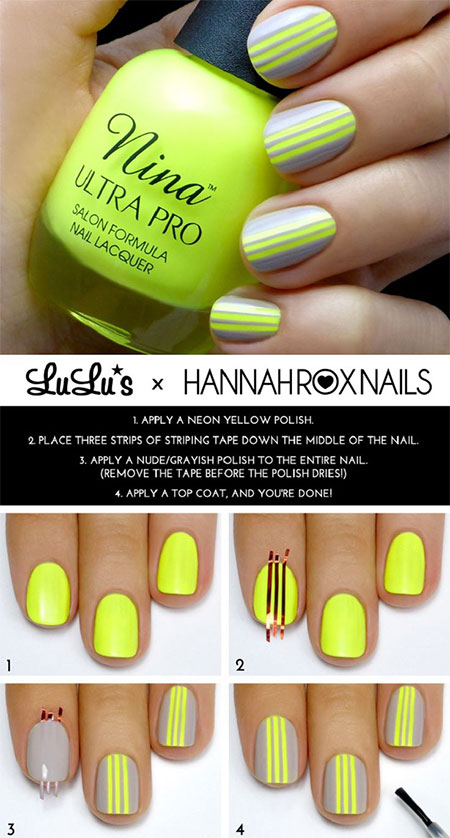 18-Easy-Step-By-Step-Summer-Nail-Art-Tutorials-For-Beginners-Learners-2015-6