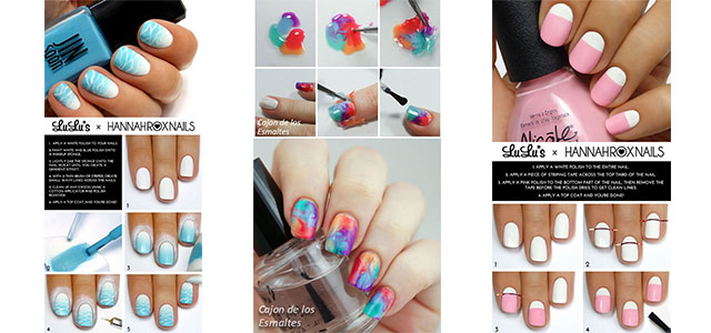 18 Easy Step By Summer Nail Art Tutorials For Beginners Learners 2017 Fabulous Designs