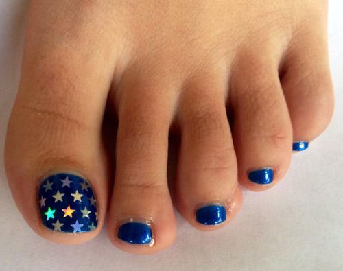 10 cute fourth of july toe nail art designs ideas trends 10 cute fourth of july toe nail art prinsesfo Image collections
