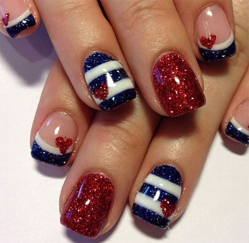 15-Fourth-Of-July-Acrylic-Nail-Art-Designs-Ideas-Trends-Stickers-2015-4th-Of-July-Nails-5
