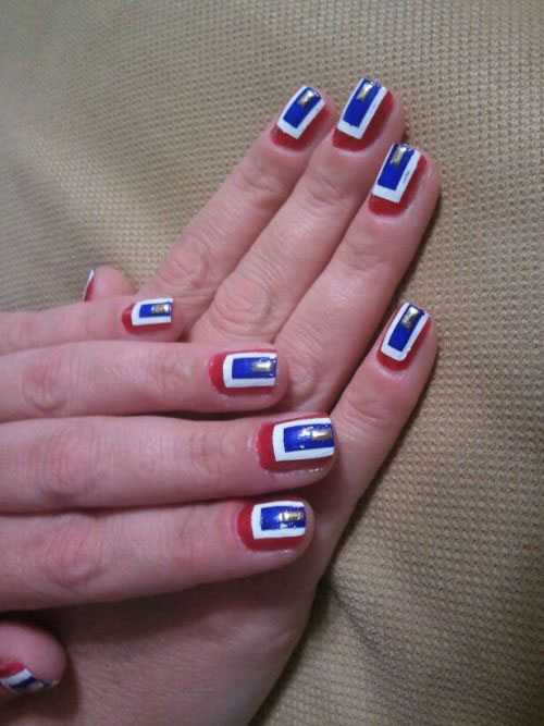 15 Fourth Of July Acrylic Nail Art Designs, Ideas, Trends & Stickers ...