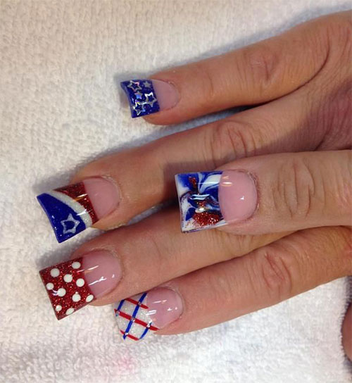 15-Fourth-Of-July-Acrylic-Nail-Art-Designs-Ideas-Trends-Stickers-2015-4th-Of-July-Nails-8