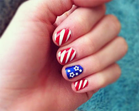 15-Simple-Fourth-Of-July-Nail-Art-Designs-Ideas-Stickers-2015-4th-Of-July-Nails-11