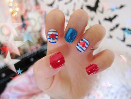 15-Simple-Fourth-Of-July-Nail-Art-Designs-Ideas-Stickers-2015-4th-Of-July-Nails-14