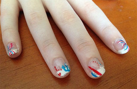 15-Simple-Fourth-Of-July-Nail-Art-Designs-Ideas-Stickers-2015-4th-Of-July-Nails-2