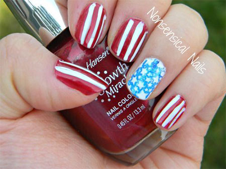 15-Simple-Fourth-Of-July-Nail-Art-Designs-Ideas-Stickers-2015-4th-Of-July-Nails-3