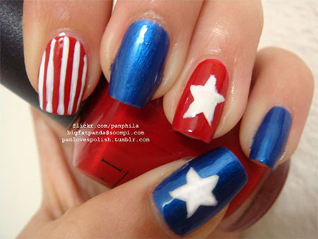 15-Simple-Fourth-Of-July-Nail-Art-Designs-Ideas-Stickers-2015-4th-Of-July-Nails-4