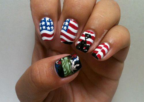 20-Best-Fourth-Of-July-Nail-Art-Designs-Ideas-Trends-Stickers-2015-4th-Of-July-Nails-14
