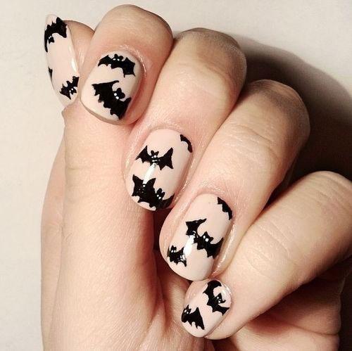 12-Halloween-Bat-Nail-Art-Designs-Ideas-Stickers-2015-3