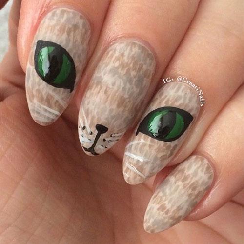 15-Cute-Halloween-Themed-Cat-Nail-Art-Designs-Ideas-Trends-Stickers-2015-1