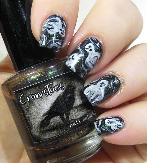 15-Halloween-Inspired-Ghost-Nail-Art-Designs-Ideas-Trends-2015-4