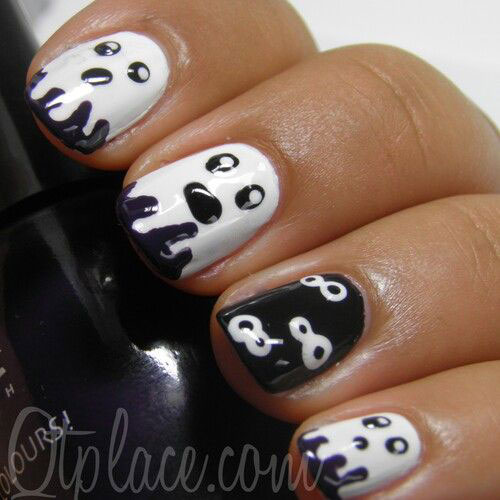 15-Halloween-Inspired-Ghost-Nail-Art-Designs-Ideas-Trends-2015-5