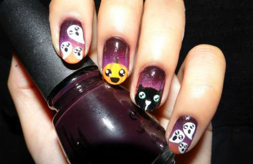 15-Halloween-Inspired-Ghost-Nail-Art-Designs-Ideas-Trends-2015-8