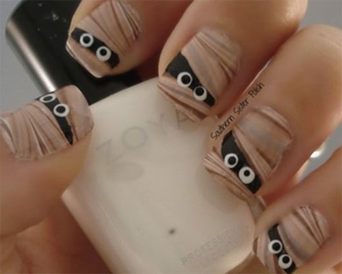 15-Halloween-Inspired-Mummy-Nail-Art-Designs-Ideas-Stickers-2015-5