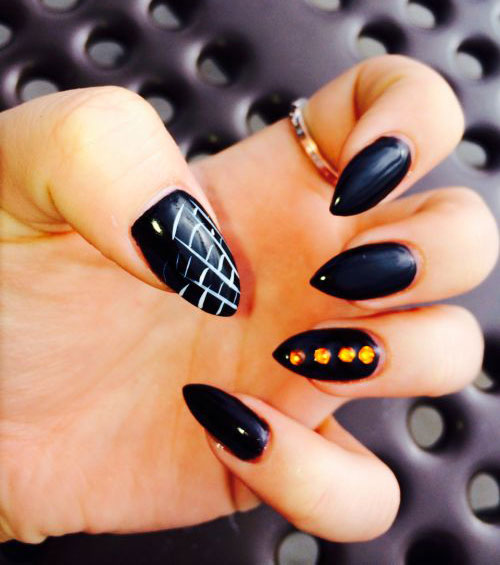 15-Halloween-Themed-Spider-Web-Nail-Art-Designs-Ideas-Stickers-2015-11