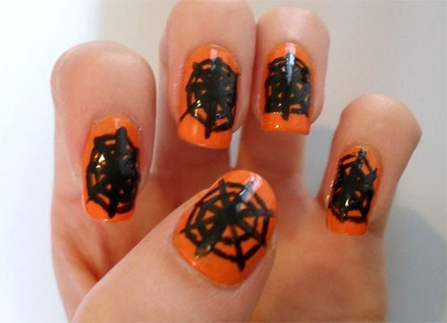 15-Halloween-Themed-Spider-Web-Nail-Art-Designs-Ideas-Stickers-2015-14