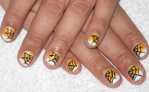 15-Halloween-Themed-Spider-Web-Nail-Art-Designs-Ideas-Stickers-2015-2