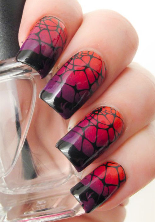 15-Halloween-Themed-Spider-Web-Nail-Art-Designs-Ideas-Stickers-2015-3