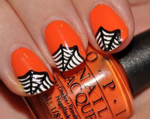 15-Halloween-Themed-Spider-Web-Nail-Art-Designs-Ideas-Stickers-2015-8