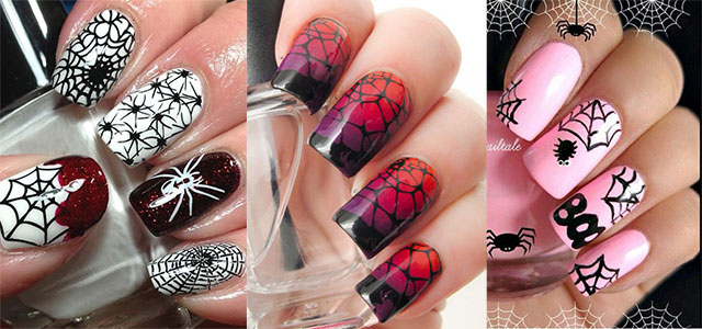 15-Halloween-Themed-Spider-Web-Nail-Art-Designs-Ideas-Stickers-2015-F