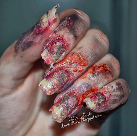 15-Zombie-Nail-Art-Designs-Ideas-Stickers-2015-Halloween-Nails-1