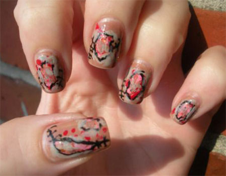 15-Zombie-Nail-Art-Designs-Ideas-Stickers-2015-Halloween-Nails-4