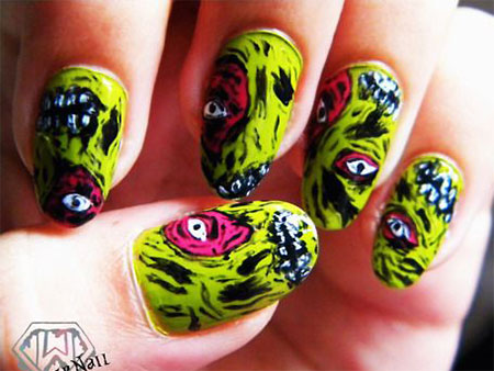 15-Zombie-Nail-Art-Designs-Ideas-Stickers-2015-Halloween-Nails-7