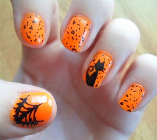 18 simple halloween nail art designs ideas trends stickers 18 simple halloween nail art designs ideas trends prinsesfo Gallery