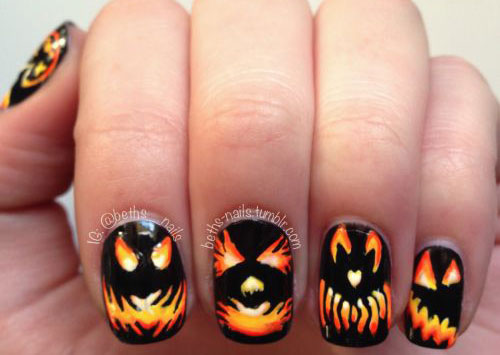 20-Halloween-Pumpkin-Nail-Art-Designs-Ideas-Trends-Stickers-2015-13