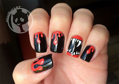 25-Scary-Halloween-Nail Art-Designs-Ideas-Trends-Stickers-2015-11