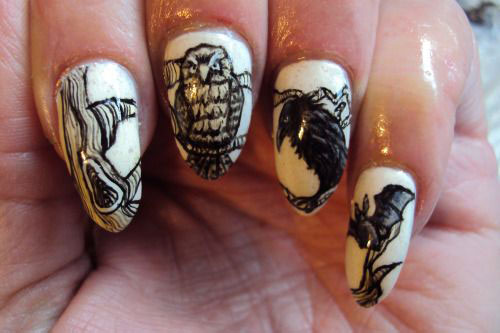 25-Scary-Halloween-Nail Art-Designs-Ideas-Trends-Stickers-2015-16