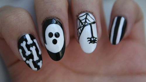 25-Scary-Halloween-Nail Art-Designs-Ideas-Trends-Stickers-2015-18