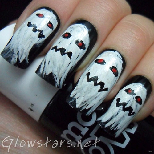 25 Scary Halloween Nail Art Designs, Ideas, Trends