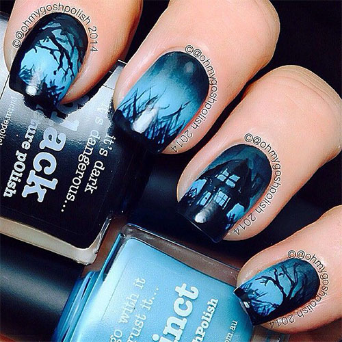 25-Scary-Halloween-Nail Art-Designs-Ideas-Trends-Stickers-2015-3